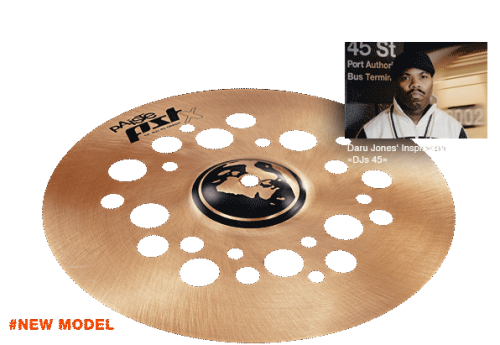 "12"" PST X DJs 45 Crash, Paiste"