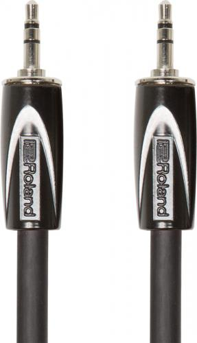 1.5 m (TRS 3,5 mm/TRS 3,5 mm, balanserad) - Black Series, Roland