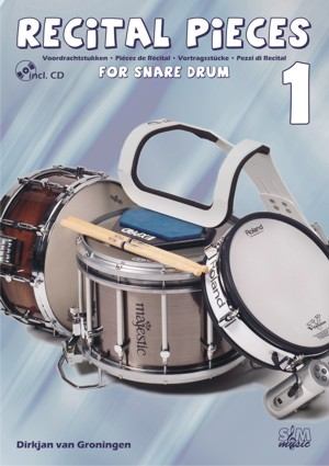 Recital Pieces For Snare Drum