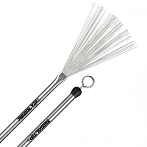 Regal Tip Aluminium Handle Retractable Wire Brush