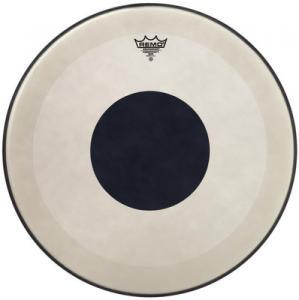 "18"" coated Powerstroke 3 Black Dot, bastrumma, Remo"