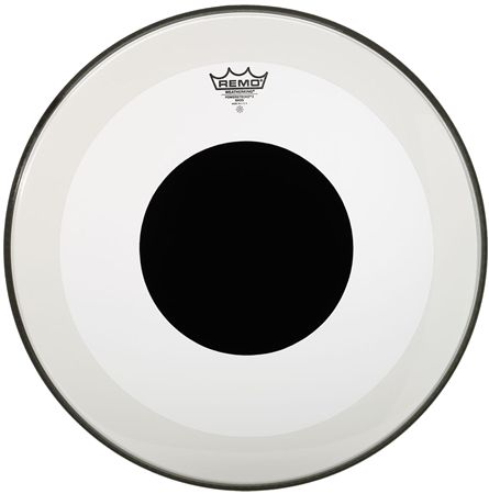 "20"" Powerstroke 3 Black Dot clear, Remo"