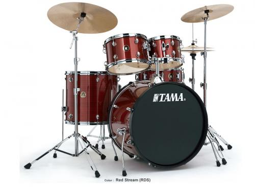 Tama Rhythm Mate, Red Stream finish, RM50YH6C-RDS