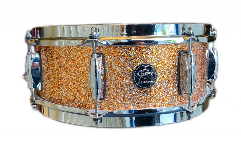 Gretsch Snare Drum Renown Maple, Copper Premium Sparkle