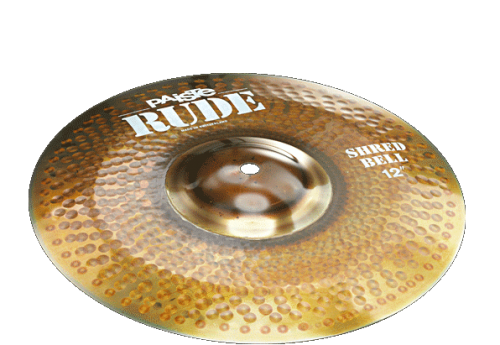 "12"" RUDE Shred Bell, Paiste"