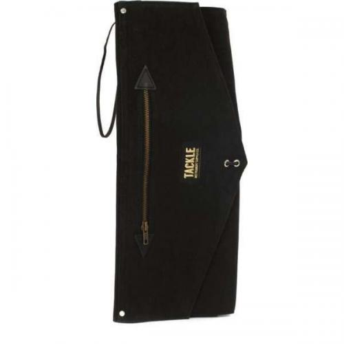 Tackle Waxed Canvas Roll Up Stick Case Black