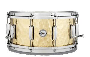 """Gretsch Snare Drum Full Range, Hammered Brass 14"""" x 6.5"""""""