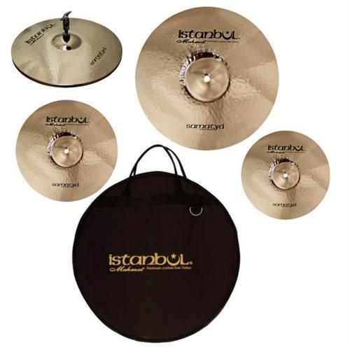 Istanbul Samatya Cymbal Set 1-18 inkl. bag
