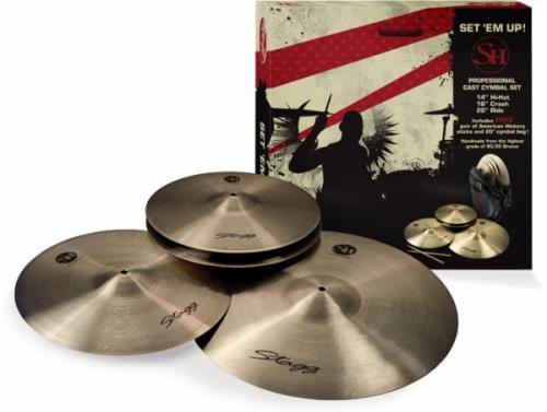 Stagg SH Cymbalpaket