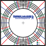 Drum shell layout map