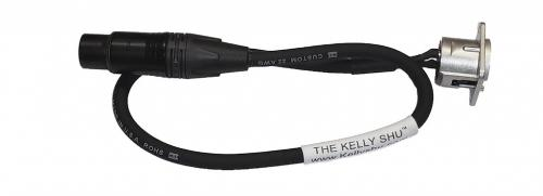Kelly SHU 18-inch XLR Socket/Microphone Cable