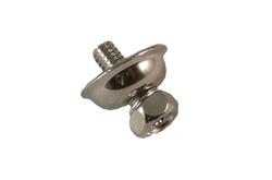 Skruv med bricka för metallstomme 4mm