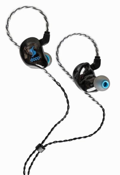 Stagg sound-isolating earphones, Black SPM-435BK