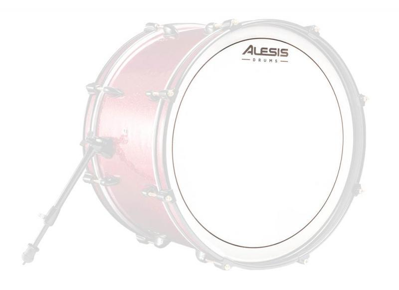 "Alesis Strike SE mesh-skinn 20"", slagsida, Alesis"
