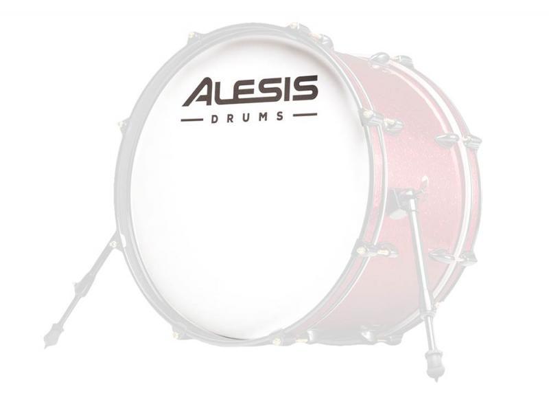 "Alesis Strike SE mesh-skinn 20"", frontskinn, Alesis"