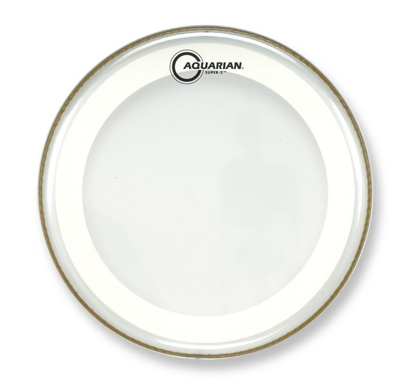 """10"""" Super-2 Clear With Studio-X Ring, Aquarian"""