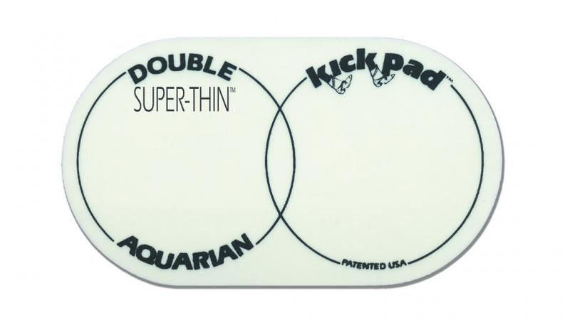 Super Thin Double Kick Pad, Aquarian
