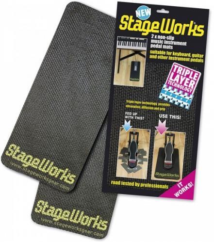 StageWorks Non-Slip Pedal Mat (2-pack)