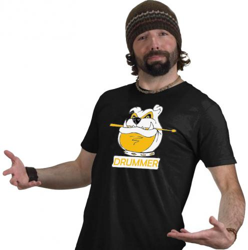 T-shirt för trumslagare