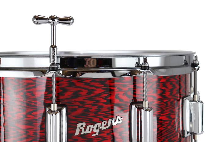 Rogers Bowtie Magnetic Drum Key with Display Box