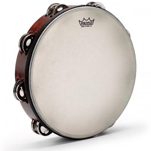 "Remo Gospel Tambourine 10"" - Double Row"