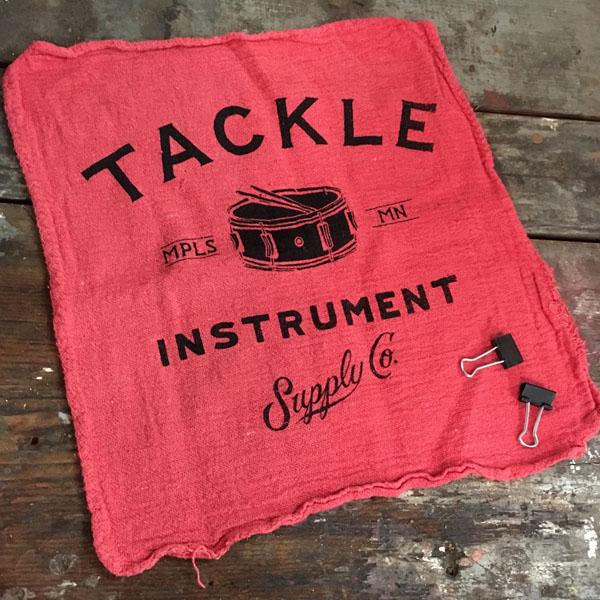 Tackle Rag Tone Damper – Red