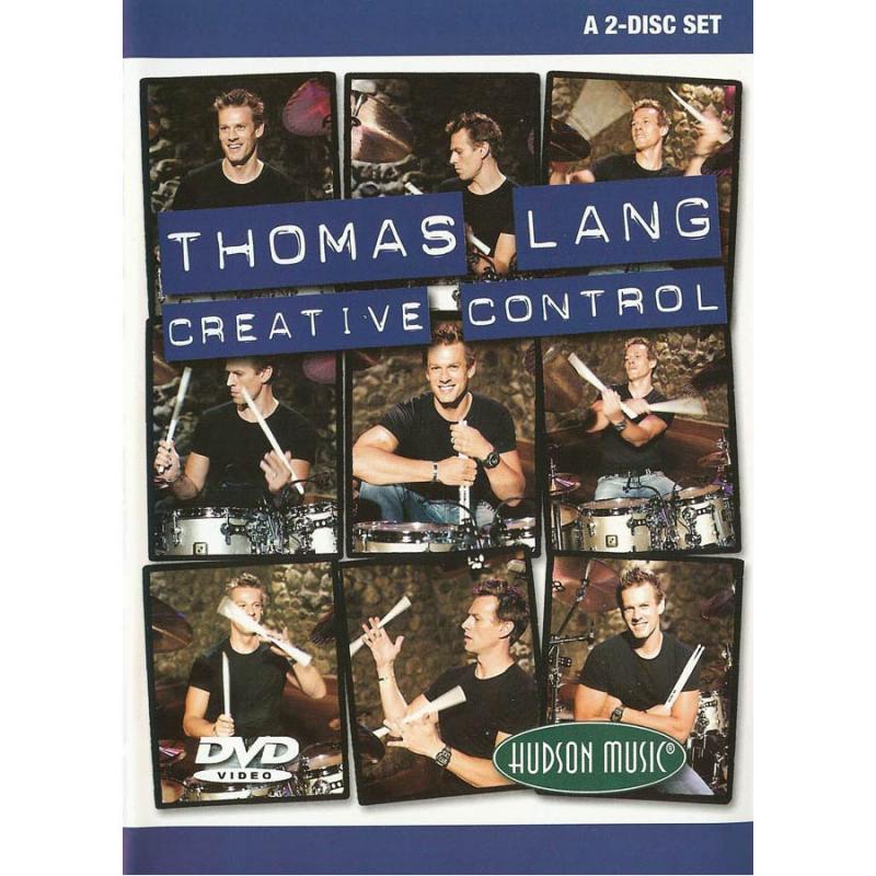 Thomas Lang: Creative Control (Bok+CD)
