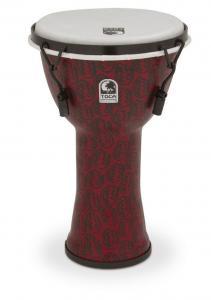 Djembe Freestyle II Mechanically Tuned Red Mask, Toca TF2DM-14RMB
