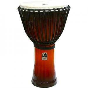 Djembe Freestyle II Rope Tuned African Sunset, Toca