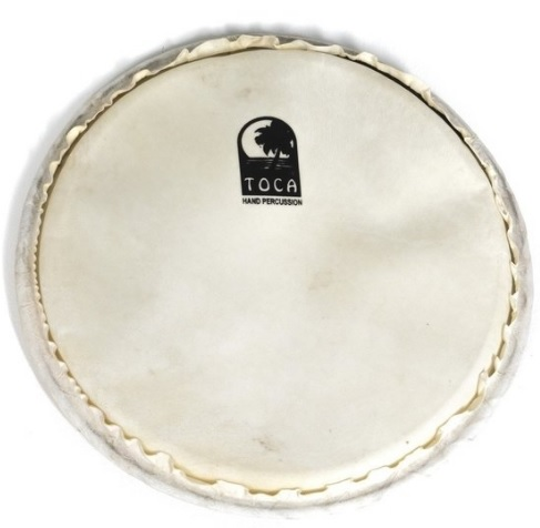 """Djembe head Freestyle Rope 12"""" goatskin natural, rope, Toca GSPFS-12"""