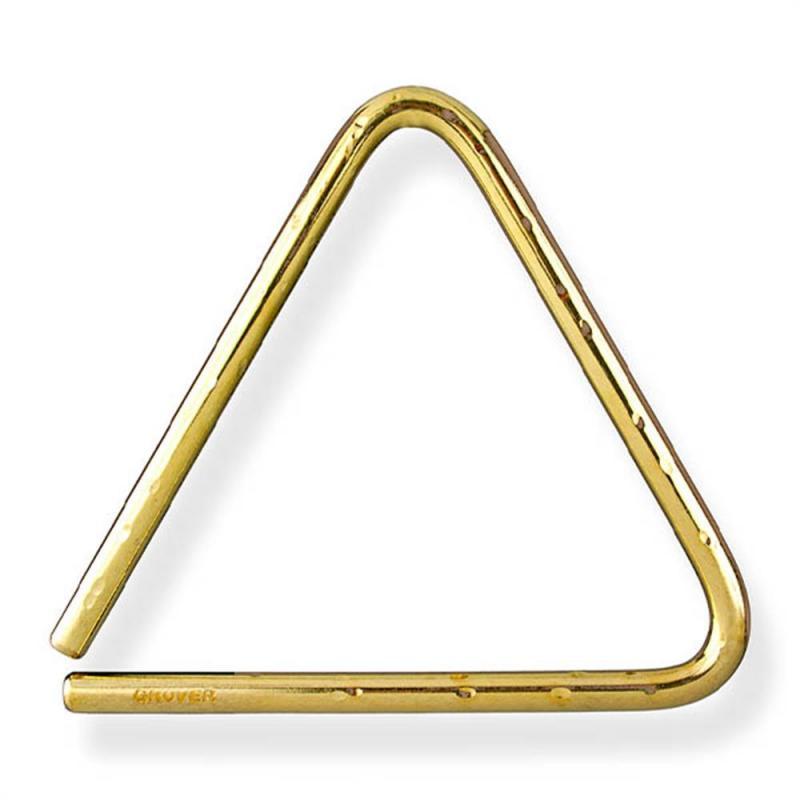 Grover Pro Percussion 4″ Bronze Hammered Lite Piccolo Triangle