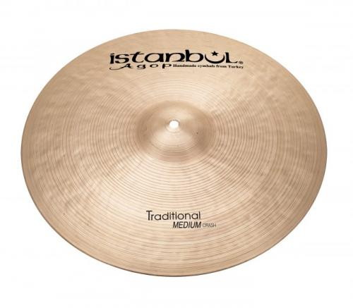 15″ Istanbul Agop Traditional Medium Crash