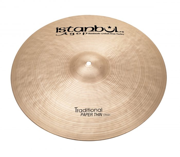 17″ Istanbul Agop Traditional Paper Thin Crash
