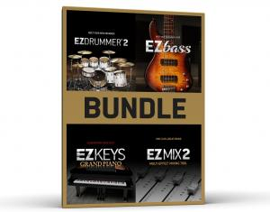 EZ Line Bundle (EZdrummer 2, EZbass, EZmix 2, EZkeys Grand Piano)