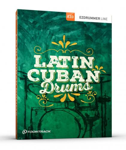 Latin Cuban Drums EZX