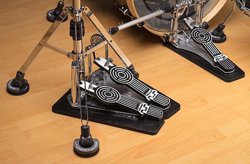 Cympad Undertones Hi-Hat Leg Pads (x3) w/Hi-Hat Pedal Pad