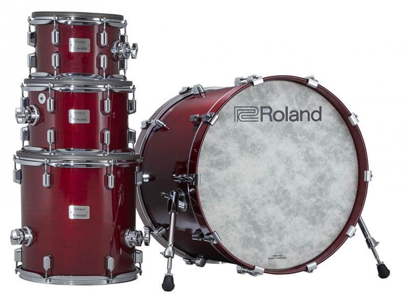 Roland Flagship VAD Kit Gloss Cherry, VAD706-GC KIT