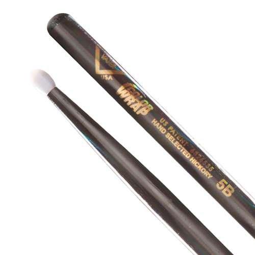 Vater Color Wrap 5A Black Optic Wood Tip
