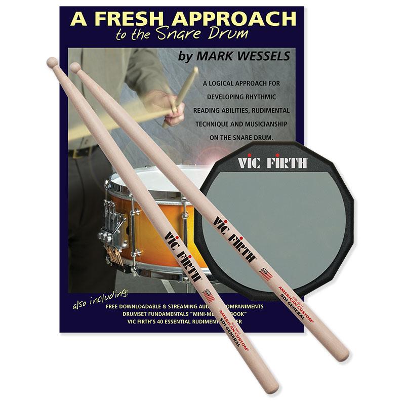 Fresh Approach Starter Pack, Vic Firth