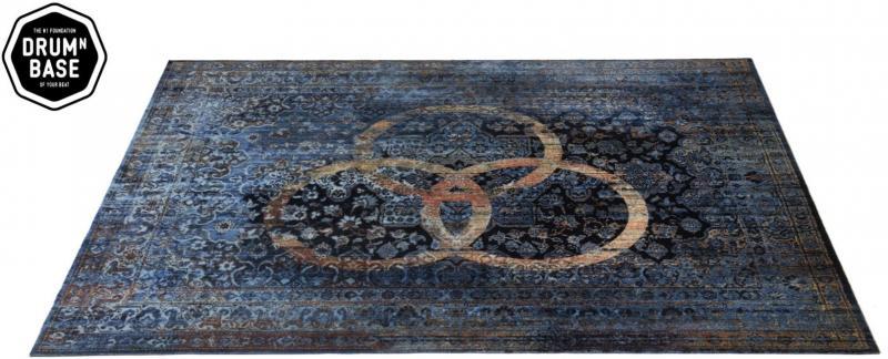 "Trummatta Persian Stage Mat ""Bonzo"" 185 x 160cm, Drum n Base"