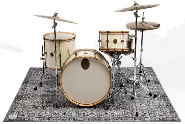 Trummatta Persian Stage Mat Grey 185 x 160cm, Drum n Base