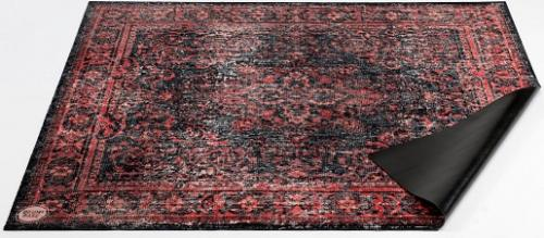 Trummatta Persian Stage Mat Red & Black 185 x 160cm, Drum n Base
