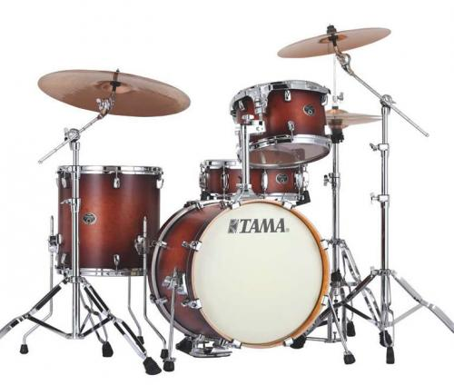 Tama Silverstar Custom, Antique Brown Burst , VP48S-ABR