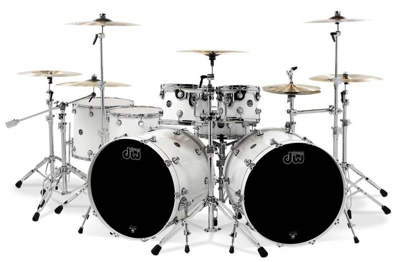 DW Performance, White Ice - 4-delars set