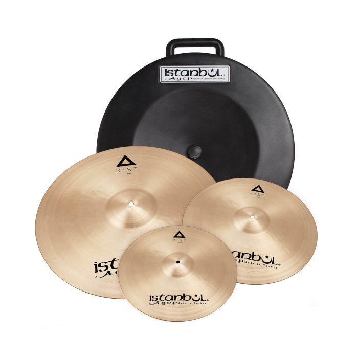 Istanbul Agop Xist Cymbal Set + Hardcase (14″/16″/20″)