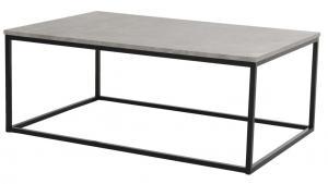 Hertog soffbord med betong topp, 115x75