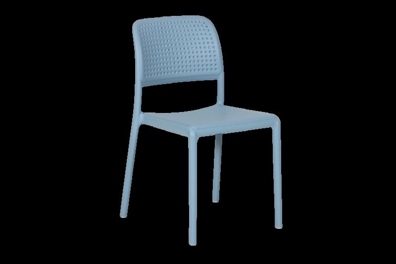 Bora Bistrot stap stol ljusblå