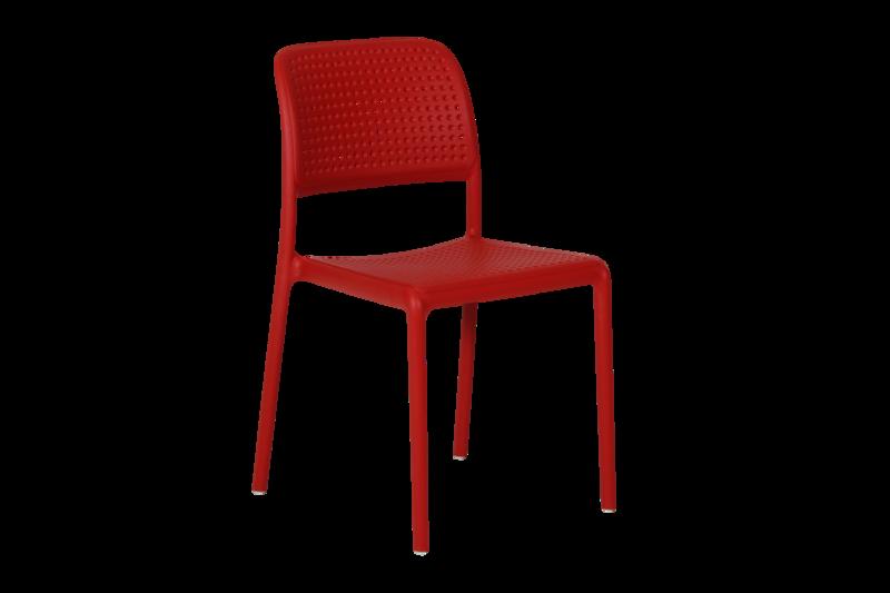 Bora Bistrot stap stol röd