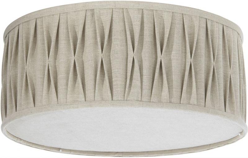 Plafond plissé stygn natur 45cm