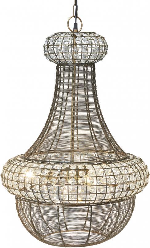 Saba taklampa silver 51cm